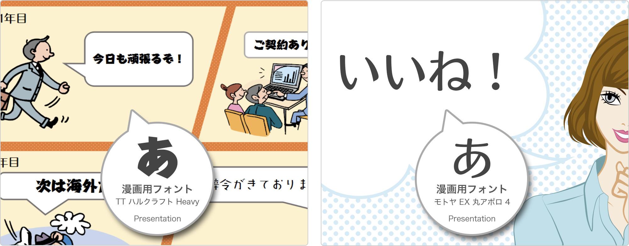 漫画の利用イメージ