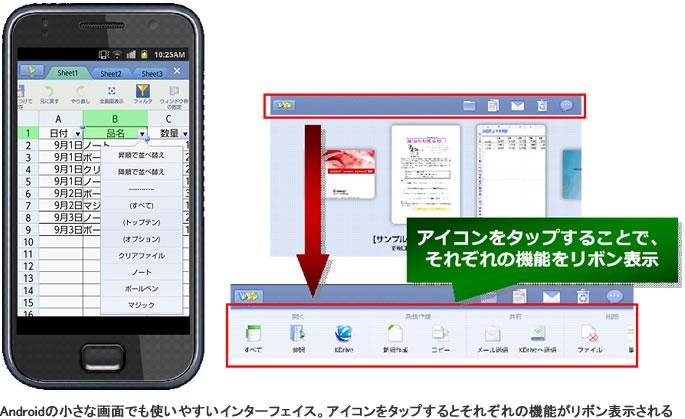 キングソフト、オフィス文書の編集・閲覧・新規作成・保存ができるAndroidアプリ「KINGSOFT Office fo
