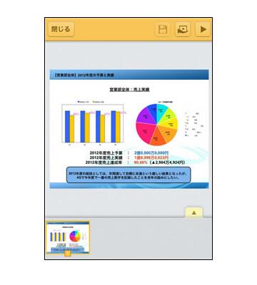キングソフト、閲覧・編集に対応したiOS端末向けオフィスアプリを発表!! 「KINGSOFT Presentation」
