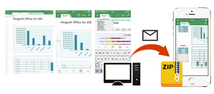 キングソフト、Word、Excel、Powerpointが編集可能な「KINGSOFT Office for iOS」を