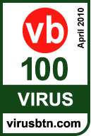 「KINGSOFT InternetSecurity U Service Pack 1」VB100(Virus Bull