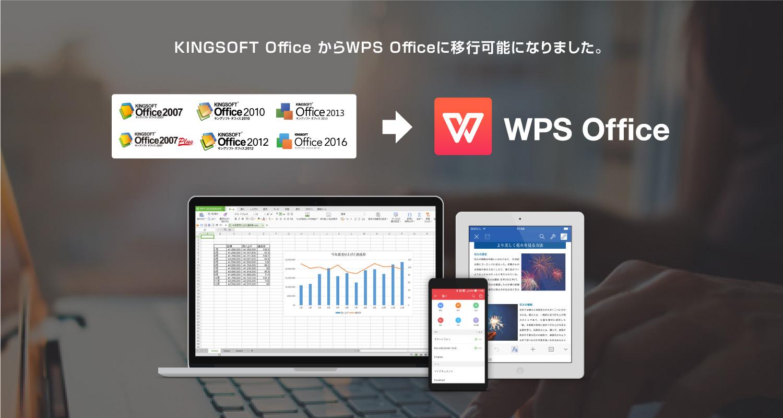 新総合オフィスソフト「WPS Office」、KINGSOFT Officeからの無償移行が可能に。 ~キングソフト オ