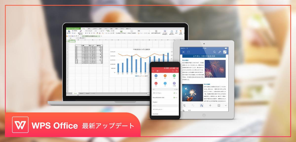 キングソフト株式会社は、より使いやすい総合オフィスソフトを目指し、主力商品「WPS Office」の最新バージョンをリリ