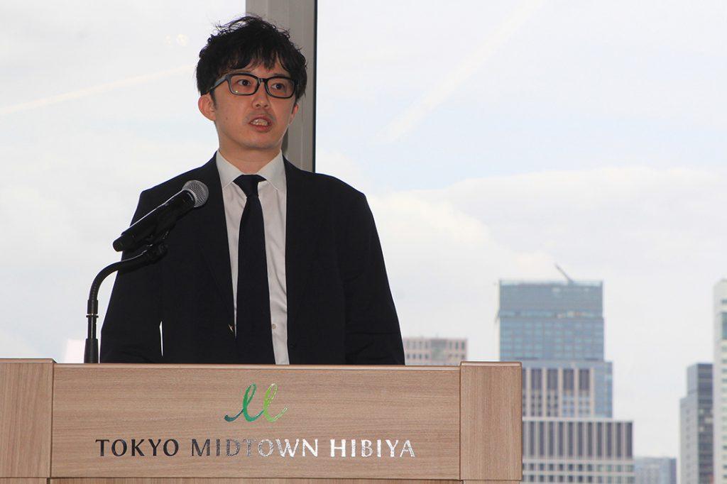 専務取締役:福田 鋭(新サービス「WPS Docs」について)